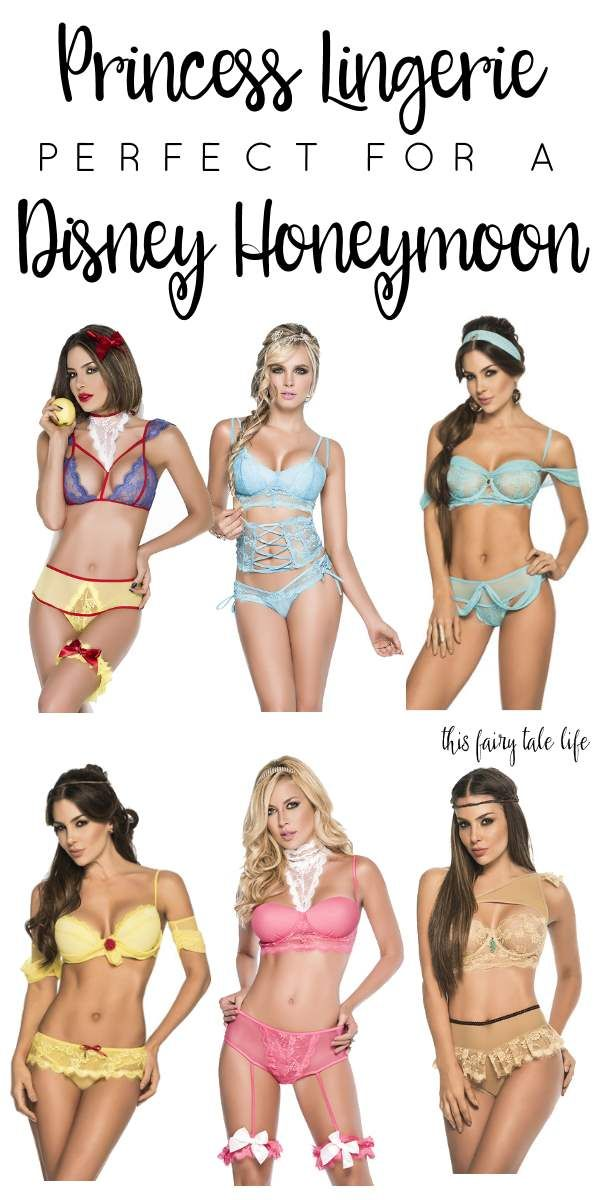 This Princess Lingerie is Perfect for Your Disney Honeymoon