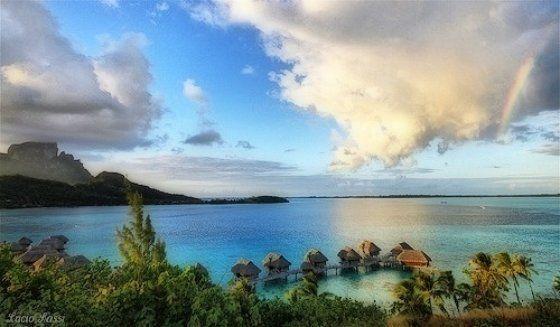 Un'ispirazione per la giornata. #Polinesia Francese, i colori della natura - una pic di superlucius