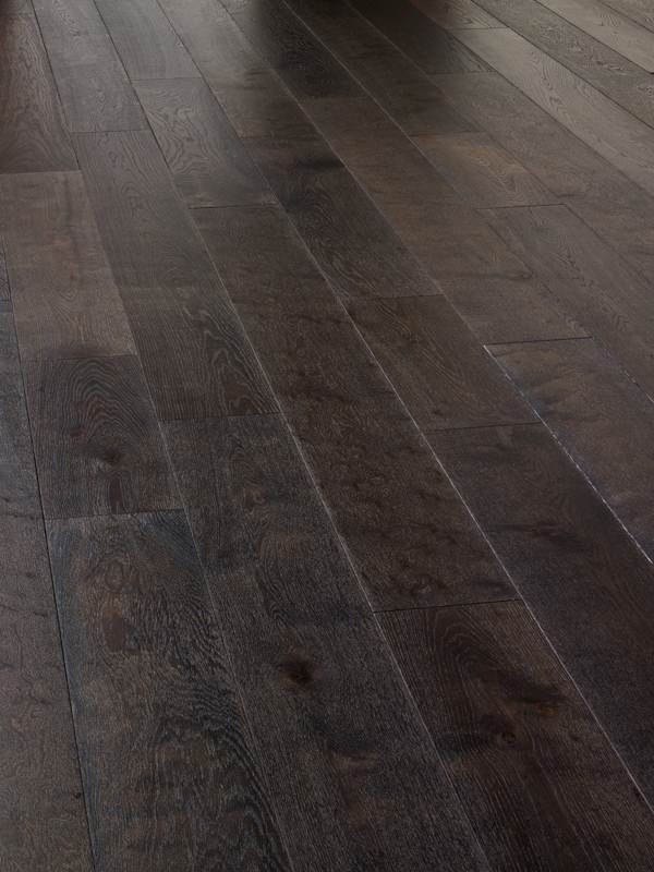 Picked this because it has wide planks 190mm. Super engineered real wood  flooring Dark Grey