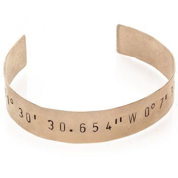 Coordinates bracelets ! Customized ...choose your favorite place