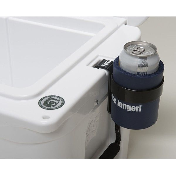 YETI Coolers Beverage Holder on Cooler
