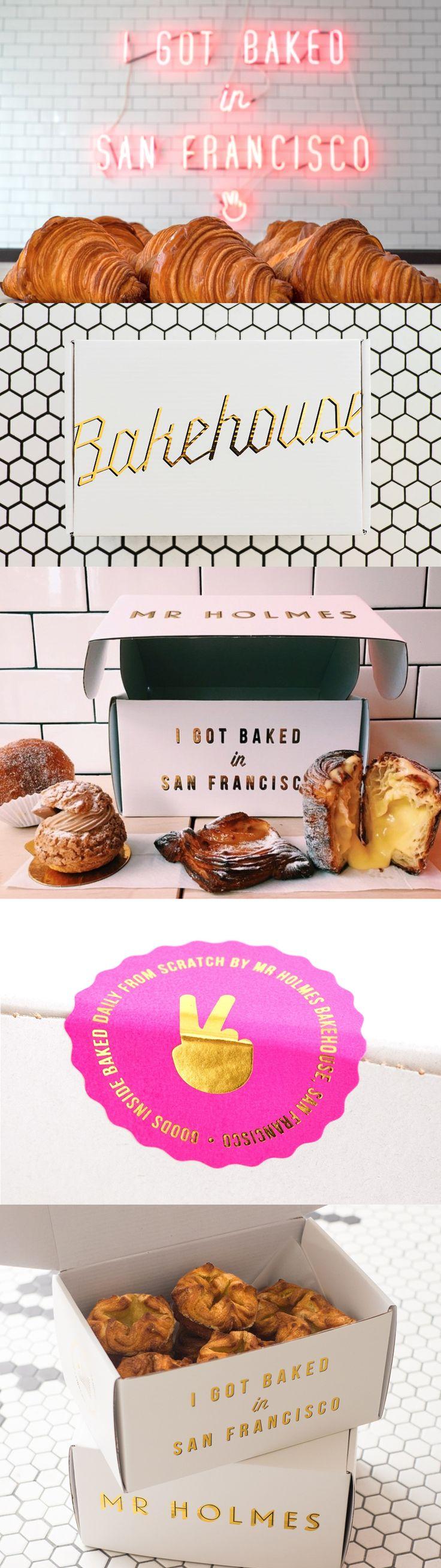 Mr Holmes Bakehouse branding