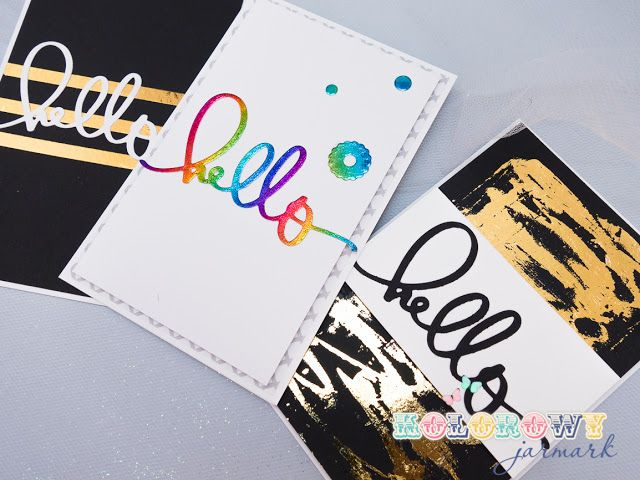 #cardmaking #clean&simple #hello #kesi'art #scrapbooking