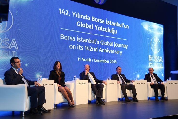 142. Yılında Borsa İstanbul'un Global Yolculuğu kapsamında T.C. Başbakan Yardımcısı Mehmet Şimşek'in teşrifleriyle etkinlikler gerçekleşti