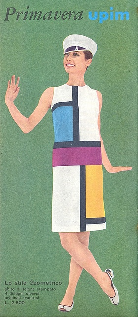pubblicità - 1966 by sonobugiardo, via Flickr.  Not technically mixed media, but inspiration-wise I like it