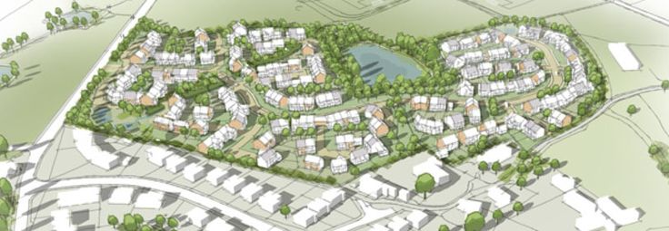 North road Glossop - proposed planning
