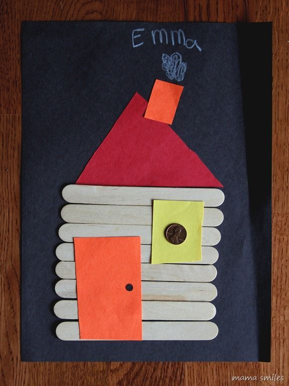 President's Day Craft - Abraham Lincoln