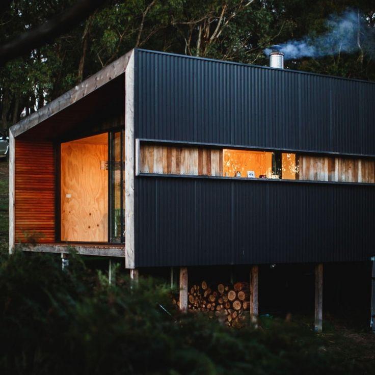 Pump House Corrugated Side and Log Storage                              …