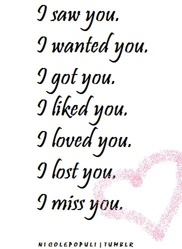 lost love quotes | ... loved you i miss you relationships love quotes friendships doodle