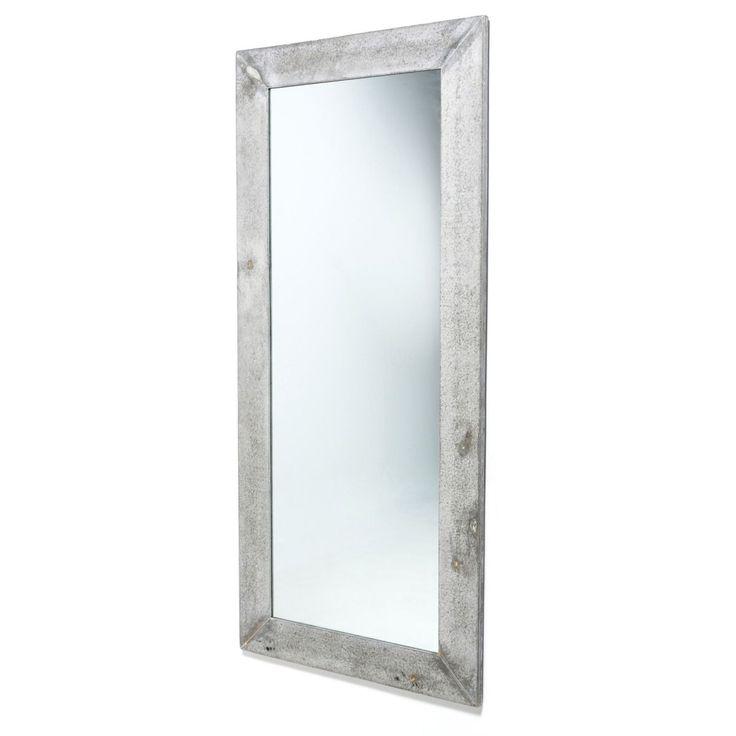 Marvelous Spiegel Betonoptik Fiberstone Rahmen Stand Wandspiegel HxBxT cm g nstig und