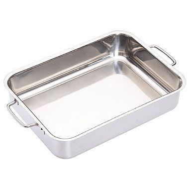 Medium Stainless Steel Roasting Pan - From Lakeland