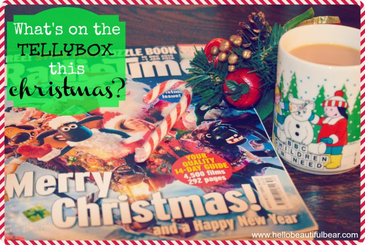 What's On The Tellybox This Christmas? » Hello Beautiful Bear
