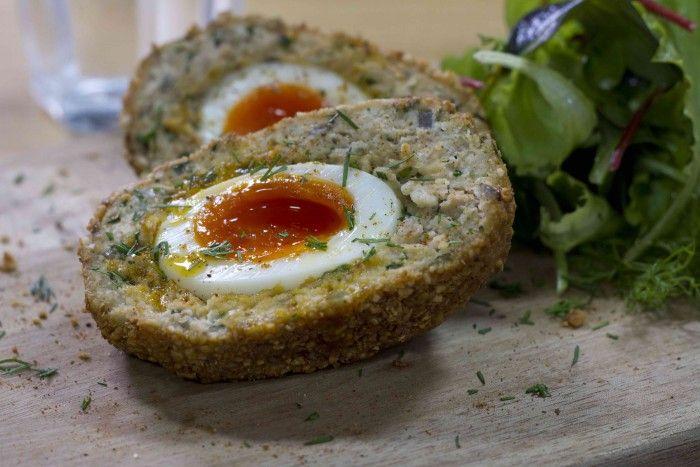 Salmon Scotch Egg | 90 Day SSS Plan | Cycle 2 Pick & Mix  / The Body Coach Blog / The Body Coach