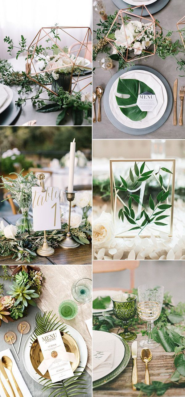 2017 Wedding Trends 30 Botanical Ideas To Decorate Your Big Day