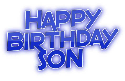 Happy Birthday to My Son From Mom | Birthday cards: Happy Birthday family