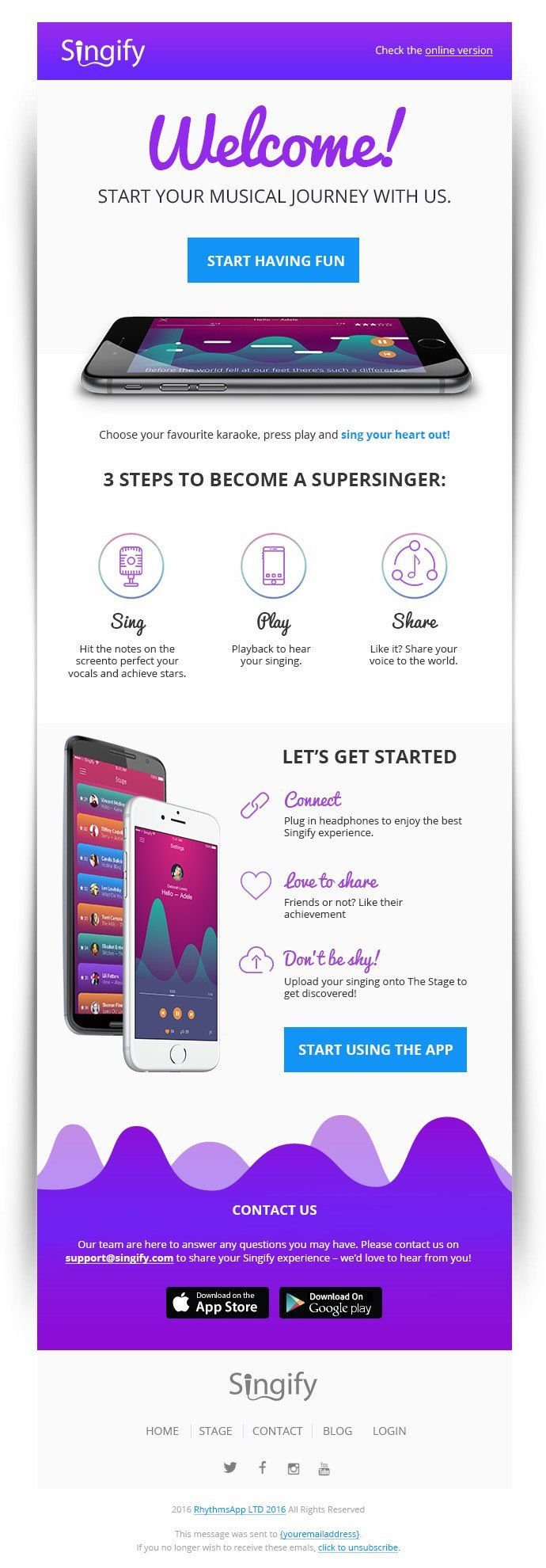 4 email design tips that just plain work. Email template design by stefanficu