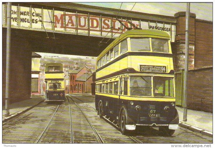 Birmingham City Transport Leyland TB5 Trolley bus - Art ...