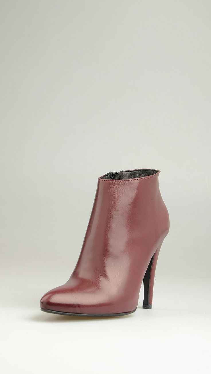 Four Stroke Leather ankle boots
