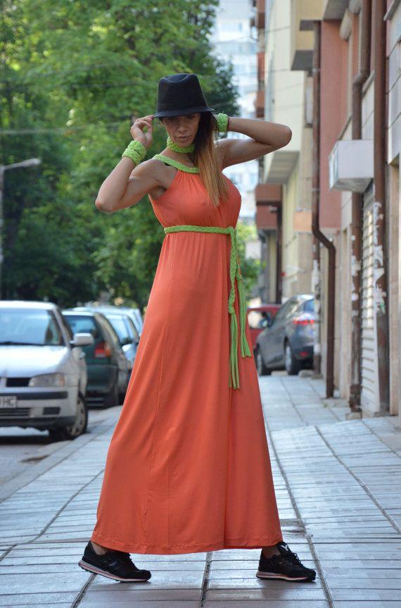 Loose Summer Dresss / Long Kaftan Dress / Loose by SSDfashion