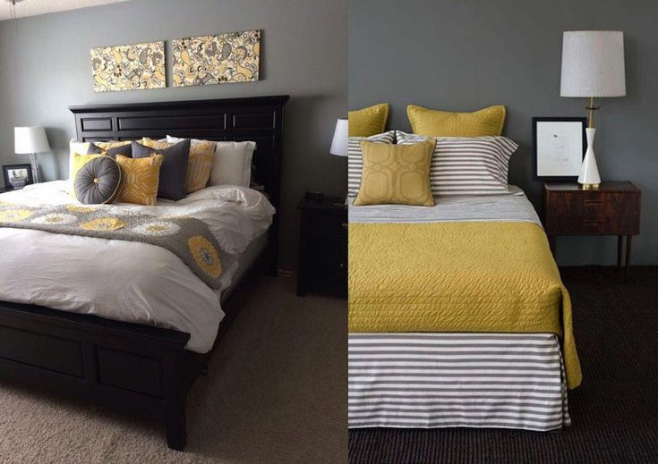 21 grey and yellow bedroom designs to amaze you in 2020