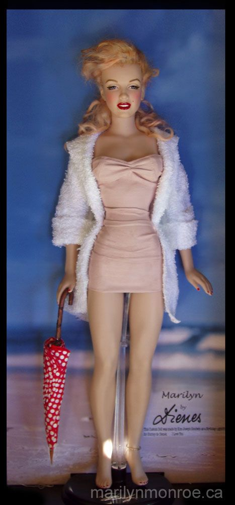 Marilyn Monroe Custom Dolls by Kim Goodwin...the early days!