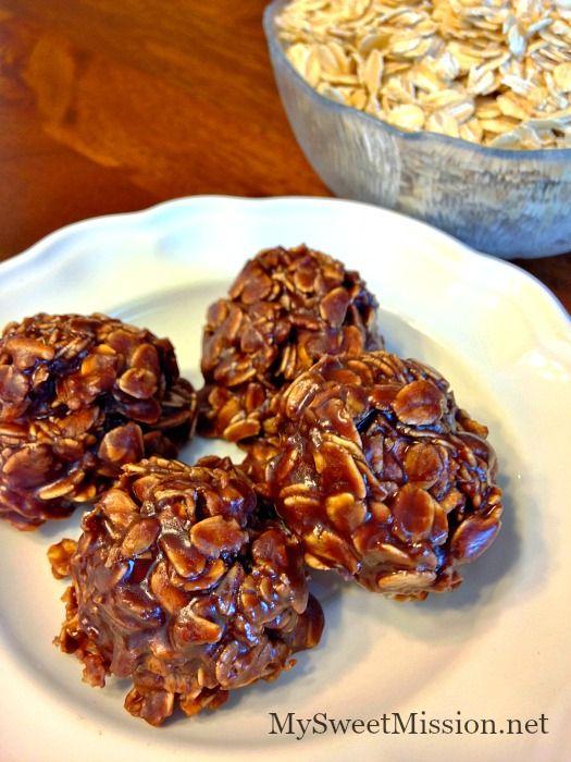 Gluten-Free, Nut-Free, No-Bake Cookies