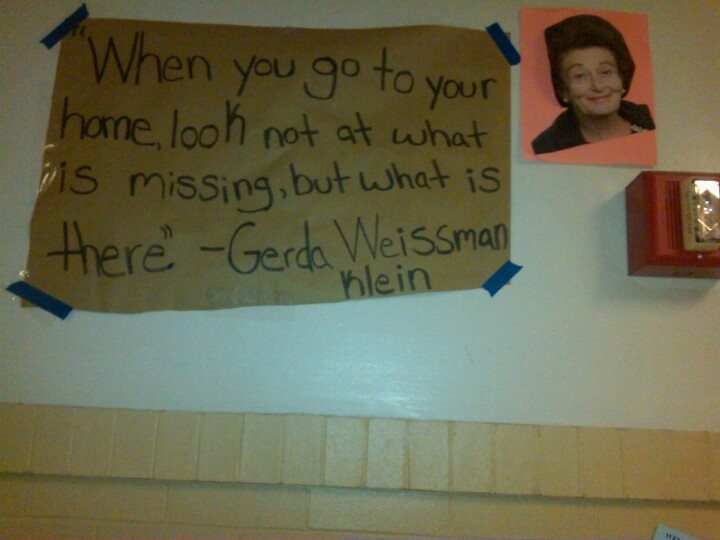 Quote From Gerda.