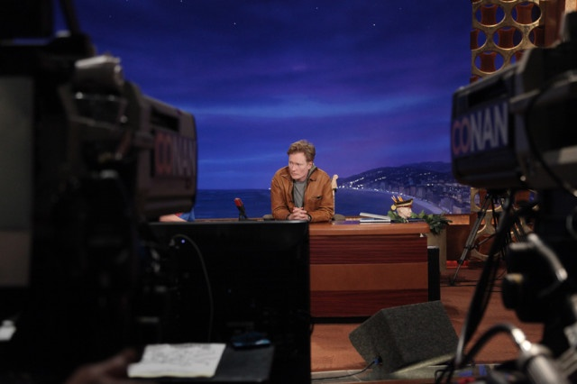 A View Of The Maestro From The Perspective Of A CONAN Cameraman