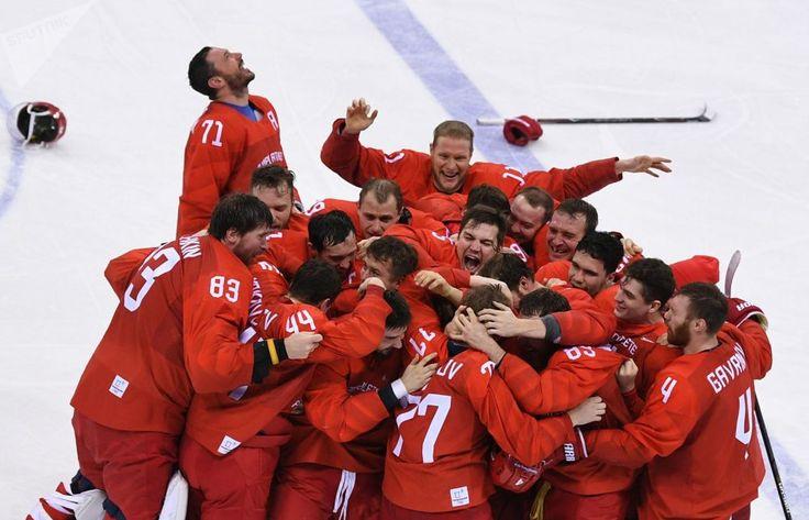 Russia's Olympic Hockey Final Win