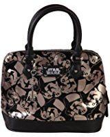 Star Wars Trooper Dome Satchel Ladies Handbag with Metal Charm