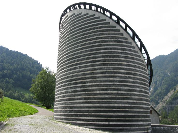Church in Mogno by Mario Botta, - Just a test