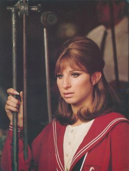 Barbra Streisand in 'Funny Girl'. Favorite musical, and I would KILL to have her…