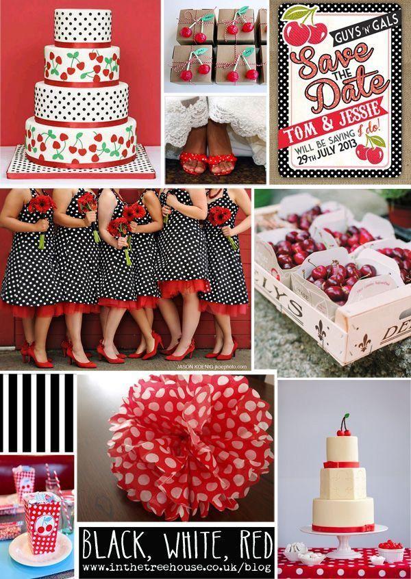 Rockabilly Wedding Decorations | Wedding - Rockabilly 1950s Wedding Inspiration