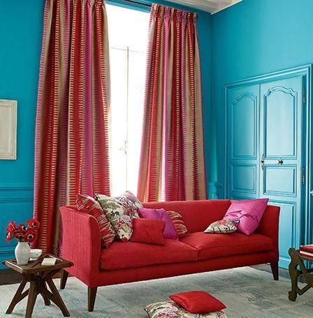 GUIDA TENDE: Tende decorative super colorate