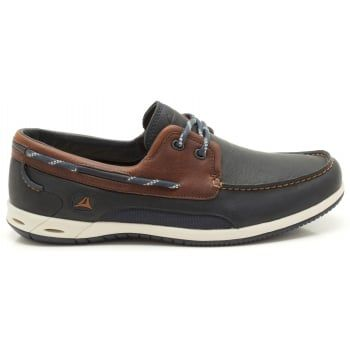 Delivering the ultimate lifestyle boat shoe, Orson Harbour feature beautifully crafted leathers with water-resistant properties and a rust-resistant construction. The Rock rubber outsole has a microsiped tread pattern for maximum wet surface grip, while moulded EVA and sheepskin linings keep feet cushioned and snug on the inside. https://www.marshallshoes.co.uk/mens-c1/clarks-mens-orson-harbour-multi-coloured-leather-tie-shoes-p2729