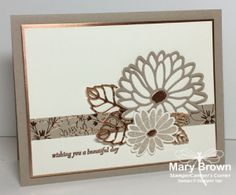Special Reason, Crumb cake, copper, Stampin Up