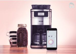 Wifi Smart Coffee Maker! This will ruin Starbucks! Check this out! http://thatstotallymancave.com/smart-wifi-coffee-maker/