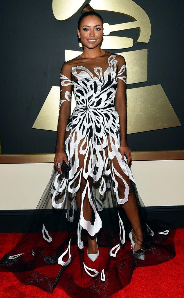 We're loving this Yanina dress on Kat Graham... perfection!