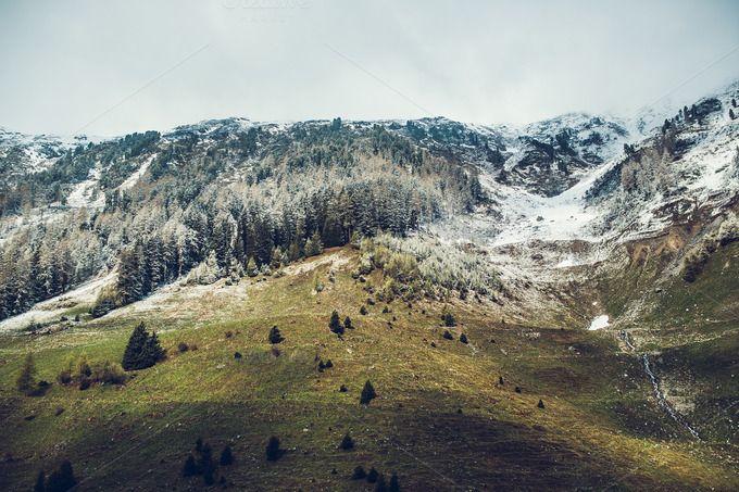 Cozy Alps by Krisp_Krisp on @creativemarket