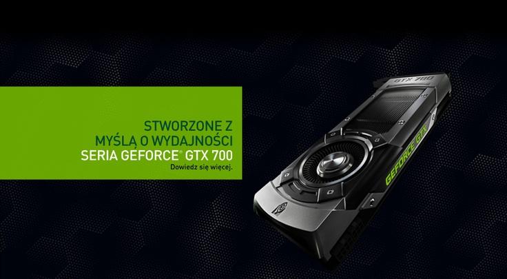 Strona poświęcona produktom firmy NVidia.