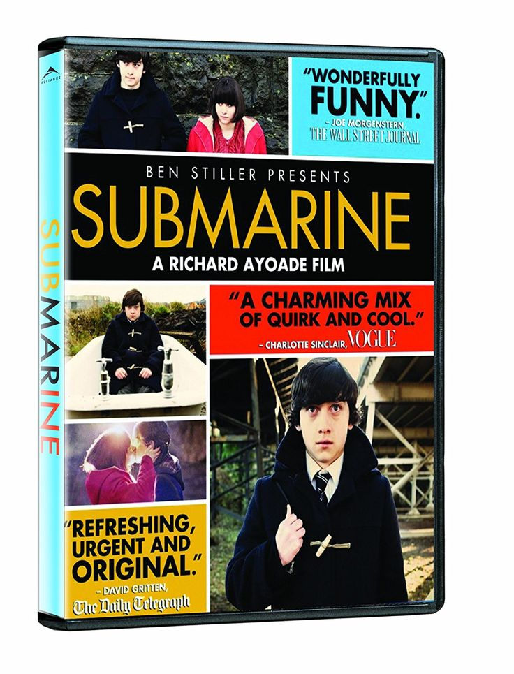 Submarine (2010) ... Oliver (Craig Roberts) is a Welsh teen who has some things on his mind. First is losing his virginity before his 16th birthday. He sets out to woo his feisty classmate Jordana (Yasmin Paige). Then Oliver focuses on holding his family together. His father (Noah Taylor), a depressed marine biologist, seems unequal to the task of preventing Oliver's mother (Sally Hawkins) from succumbing to the dubious charms of a spiritual guru (Paddy Considine). (01-Jan-2017)