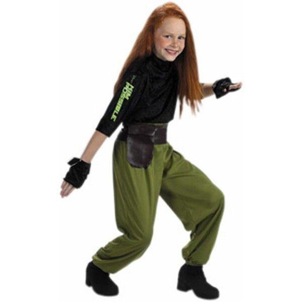 Child's Kim Possible Agent Costume