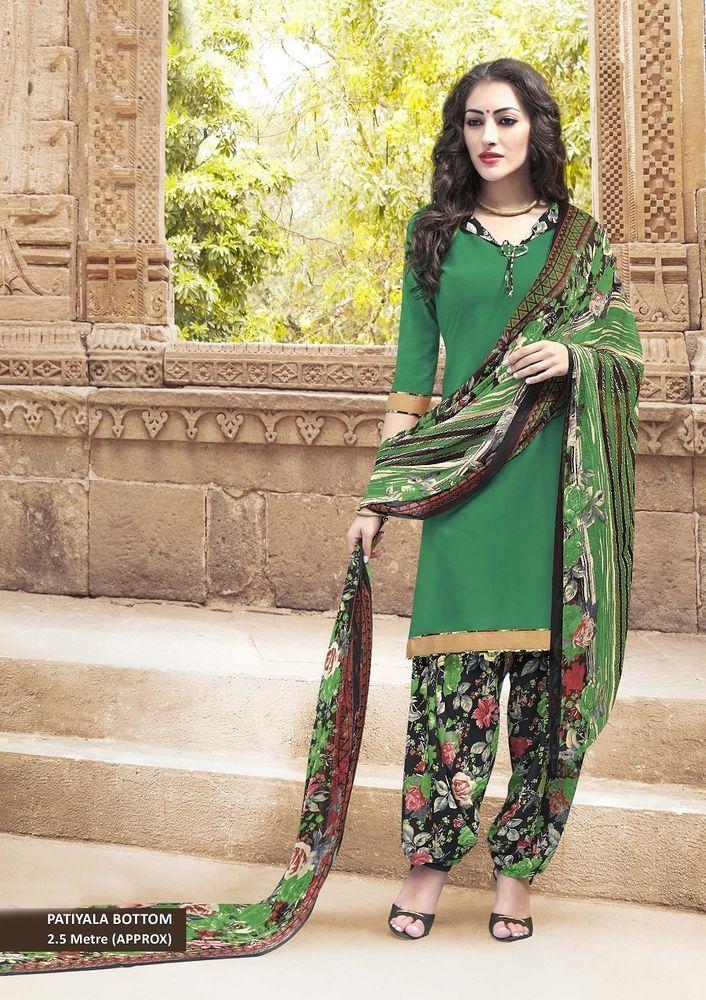 Indian Anarkali Dress Suit Ethnic Bollywood new Kameez Designer Pakistani Salwar…