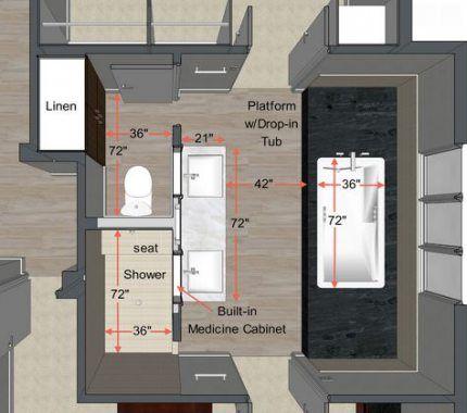 Best Bedroom Layout 12X12 Master Bathrooms 35 Ideas Bedroom 400 x 300