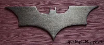 Majsterklepka - Zrób to sam: 140. Logo Batman (2013)