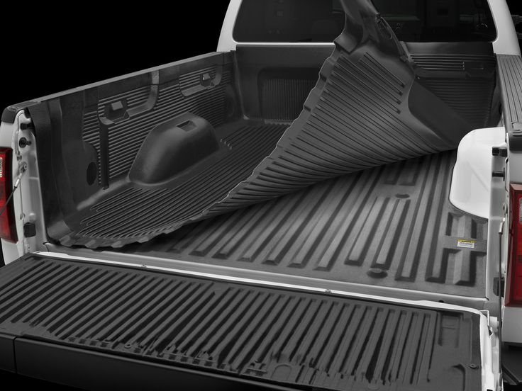 "Introducing UnderLiner® – digitally designed to perfectly match the contours of your specific pickup truck bed.  WeatherTech® UnderLiner® provides added protection by creating a .065"" thick semi-soft protective barrier between the rigid drop-in bed liner and the painted surface of your truck bed."