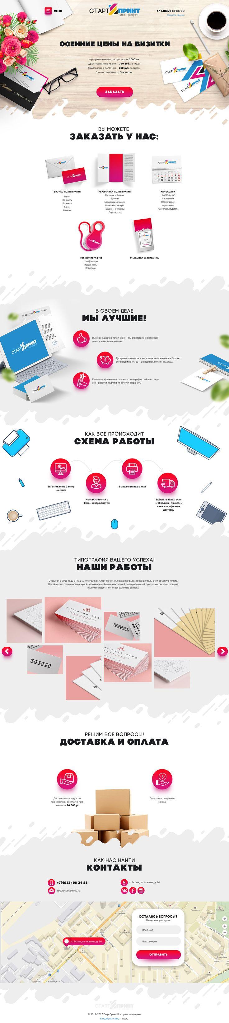 Лендинг за 40 000 рублей с настройкой Яндекс.Директ
