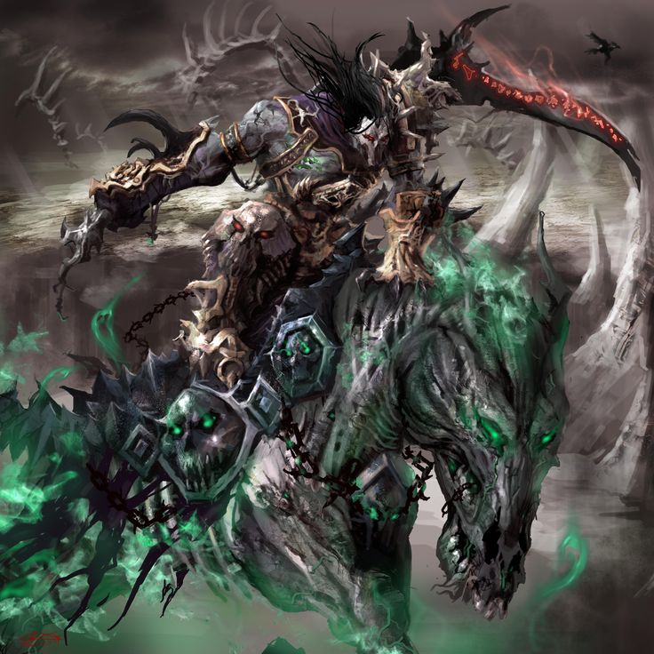 darksiders fanart...Death.