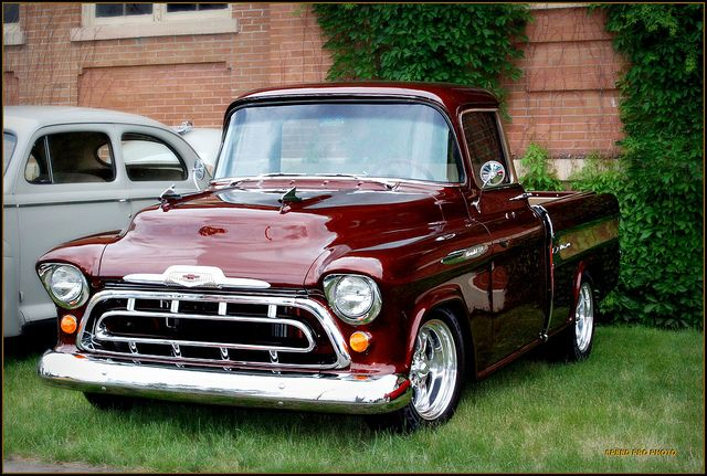 1956 chevy pickup | 1956 Chevrolet Pickup | Flickr - Photo Sharing!