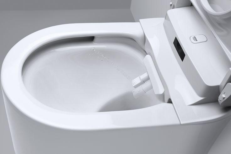 Per gli amanti dell'igiene giapponese e degli attrezzi tecnologici è il momento di gioire, finalmente il water intelligente con il bidet incoroporato arriva in Italia! Il washlet (wash+toilet) o spalet nella sua versione più ricercata (spa + toilet) arriva anche in Italia grazie a Grohe, la ditta tedesca di sanitari...